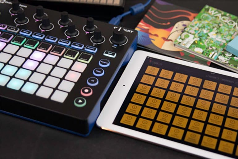 Launch into a larger world with MIDI Sync option for Novation's iOS