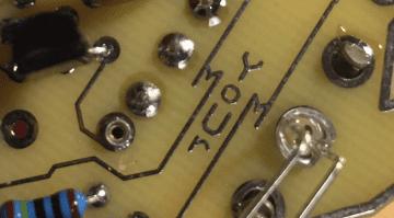 Silicon Germanium hybrid fuzz pedal built in USA Yellowcake your mom