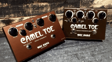 Way Huge Dunlop Camel Toe 2 twin overdrive pedal.