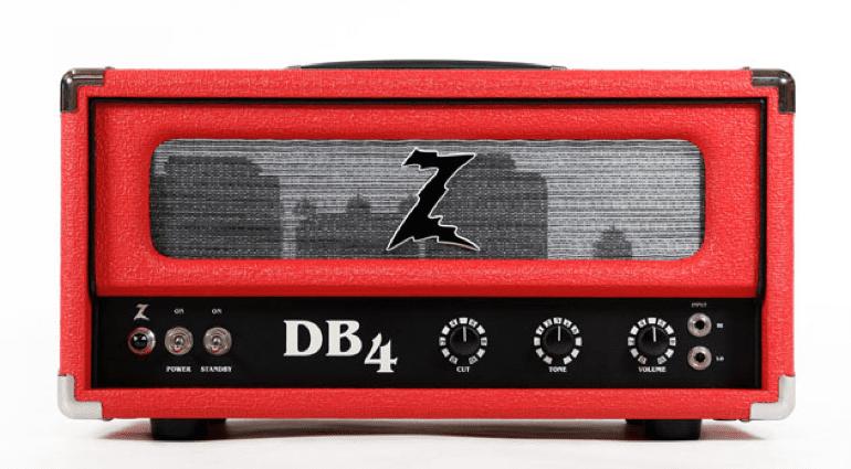 Dr Z DB4 Brad Paisley head combo 1x12 2x12 British Voiced valve amp series