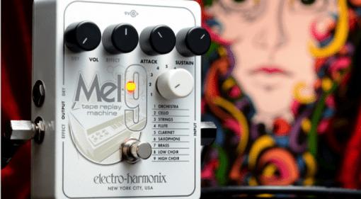Electro harmonic Mel9 pedal Mellotron simulator