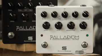 Seymour Duncan USA High Gain Palladium preamp pedal effect