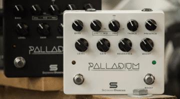 Seymour Duncan USA High Gain Palladium preamp pedal effect