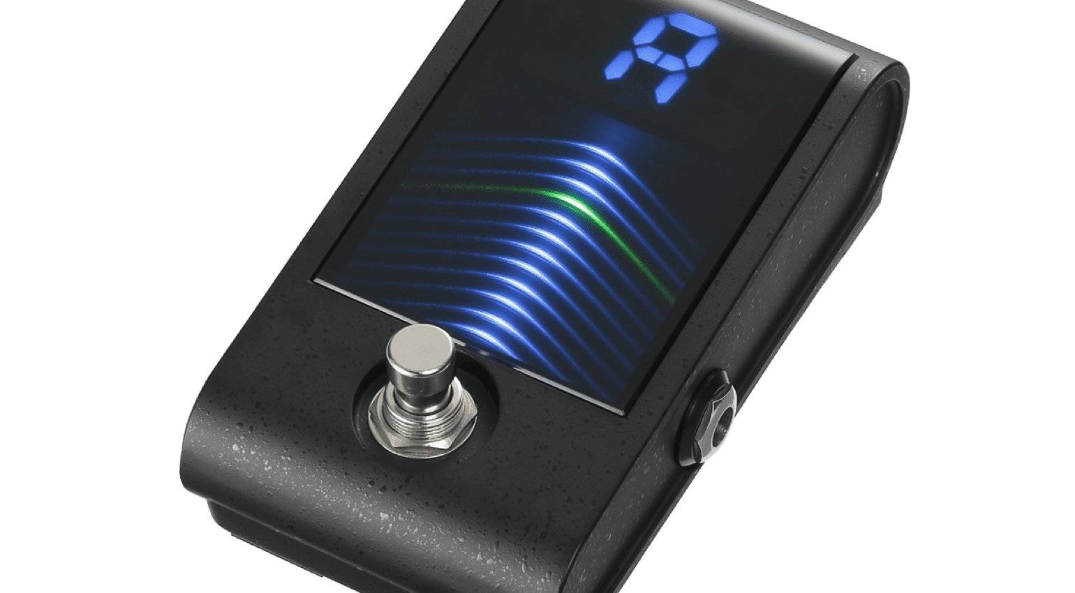Korg Pitchblack Custom tuner with more display than ever