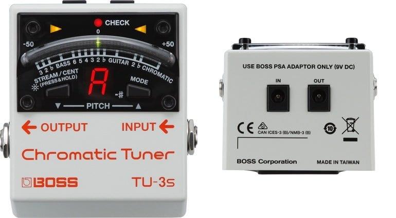 Boss Tuner TU-3, TU-3S, TU-3W Waza Craft