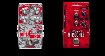 Digitech Dirty Robot and Ricochet Whammy Musikmesse