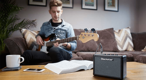 Blackstar Amplification Bass Fly mini desktop amps and extension speaker