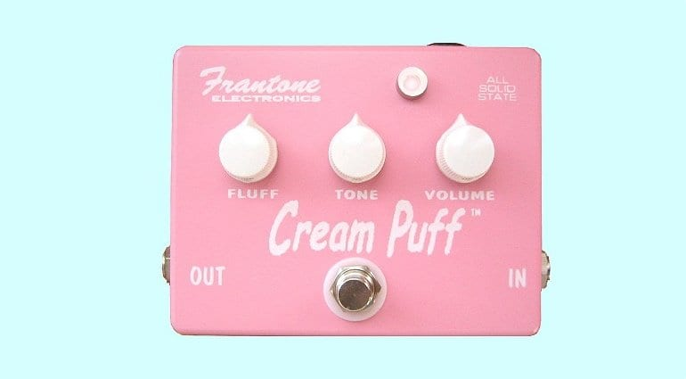 Kickstarter Frantone Cream Puff fuzz pedal