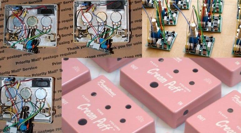 Campaign Kickstarter Frantone Cream Puff fuzz pedal