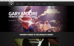 Fender Custom Shop Fiesta Red Gary Moore Stratocaster May 20th