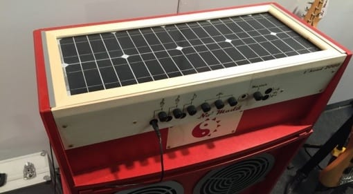 Musikmesse 2016: No Madd Solar Amps