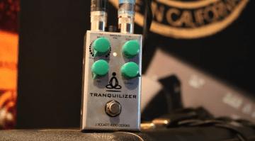J Rockett Tranquilizer Tour Series pedal Phase Vibe MXR 45 90
