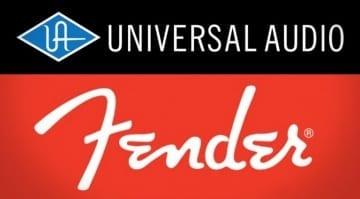 Musikmesse Fender UAD Universal Audio partnership