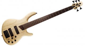 Cort 4 ans 5 string bass with new Markbass preamp