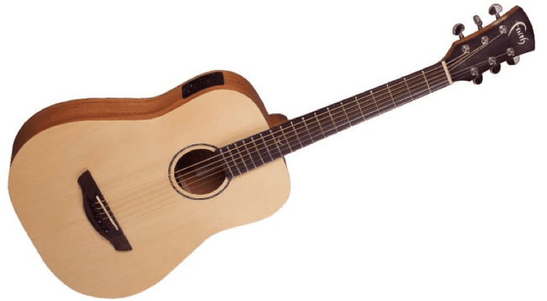 Faith Nomad Series Travel Guitar and Venus Blood Moon Acoustics