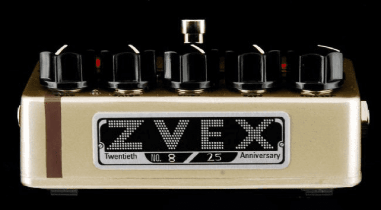 ZVex Fuzz Factory limited run 20 years old bauhaus paint job
