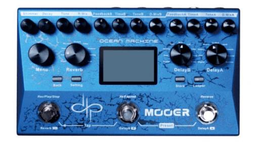 Devin Townsend Mooer Ocean Machine Delay Reverb Loper pedal