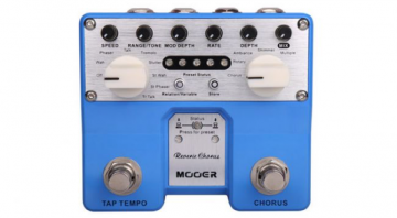 Mooer Reverie twin pedals reverb hours preset twin switches
