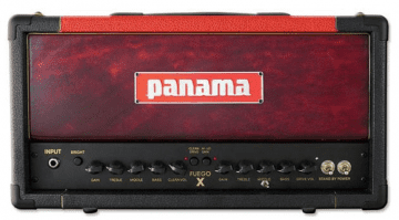 Panama Guitars Fuego 15 X. valve 15 watt metal guitar amp head Fuego