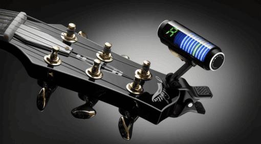 Guitar Bass Korg Sledgehammer clip on tuner Musikmesse