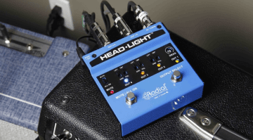 Radial Engineering Canada Bumper Headlight switcher pedal amp multi guitar pasive active box