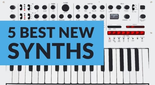 Teaser 5 best new synthesizers