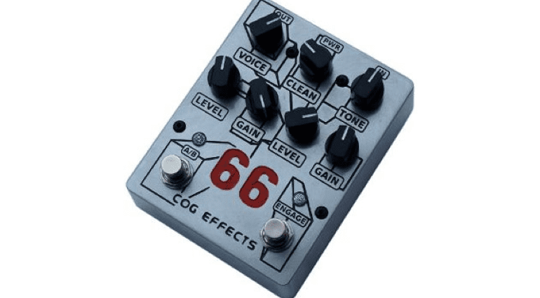 UK Sheffield Boutique Cog Effects Knightfall 66 Overdrive pedal 1590BB Hammond effect pedal