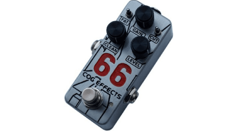 Boutique UK Sheffield Cog Effects Mini 66 Overdrive pedal 1590A Hammond compact effect pedal