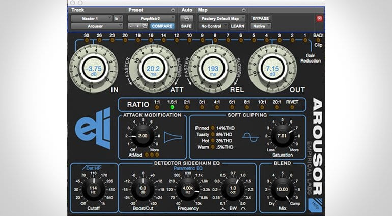 Empirical Labs 'Arousor' - the most anticipated plugin this