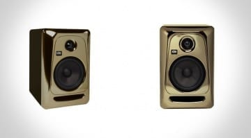 KRK ROKIT 5 GE Limited Edition: Black-Gold Model