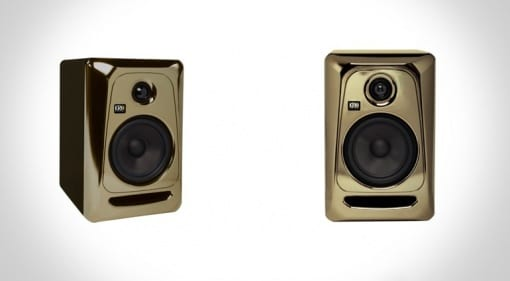 KRK ROKIT 5 GE Limited Edition: Black-Gold Model