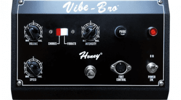 Shin-ei Vibe-Bro Chorus Vibrato pedal FX vintage NOS classic