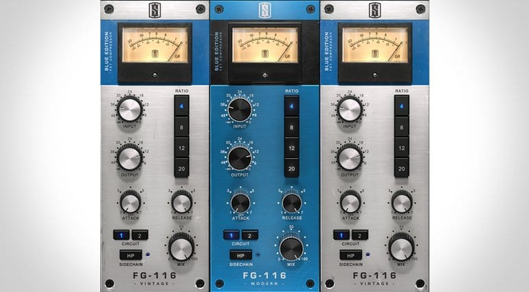 Slate Digital model a classic with FG-116 Blue FET compressor