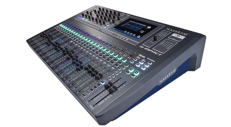 Soundcraft Si Impact Mixing Console