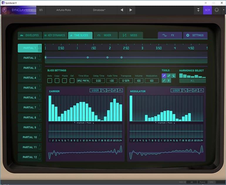 Arturia VC5 Synclaviar Screen