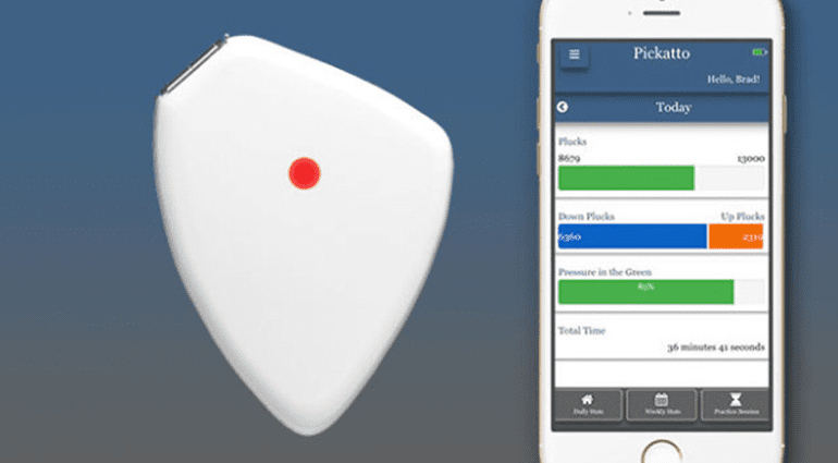 Pickatto Bluetooth Plectrum iOS iPhone Apple