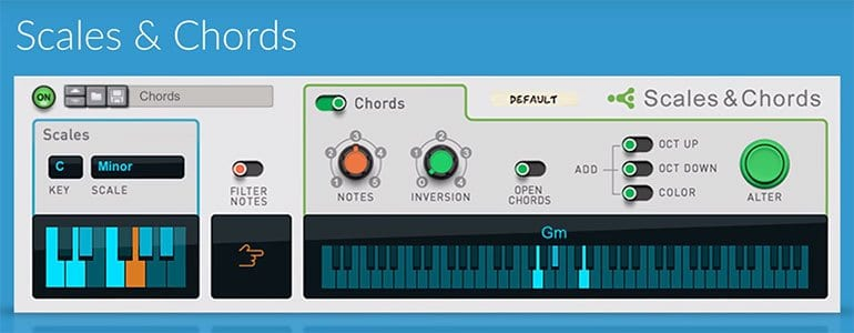 Propellerheads Reason 9 Scales and Chords