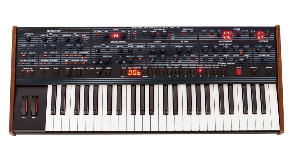 Dave Smith Oberheim OB-6 Top view