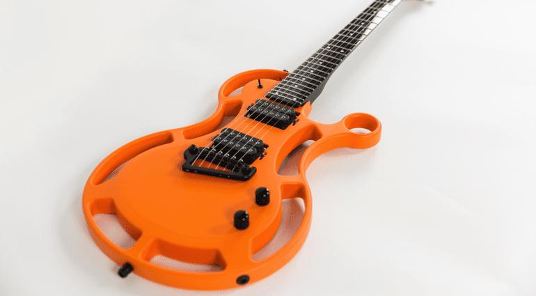 660 Guitars CT/52 aluminium guitar
