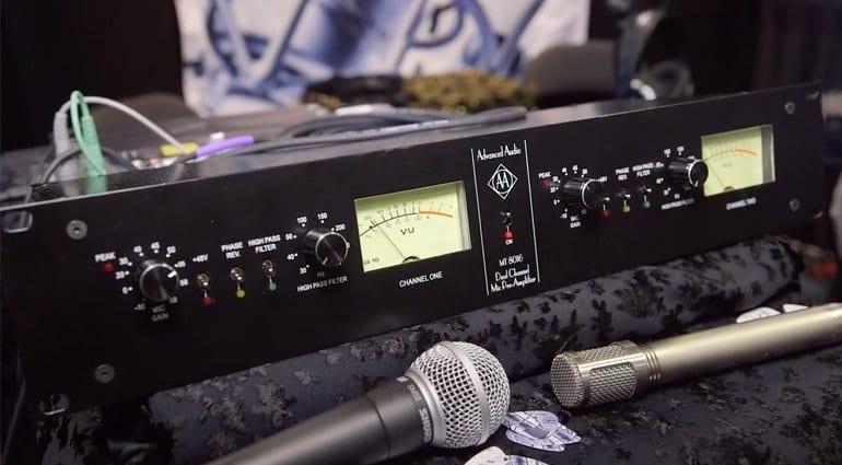 Advanced Audio MT8016 Pre-amp