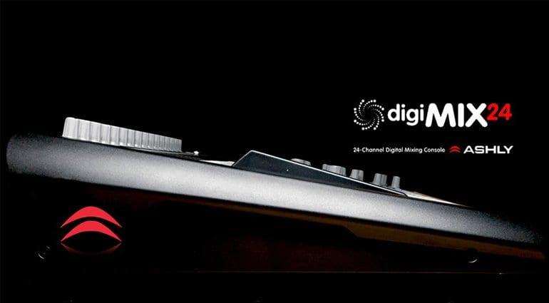 Ashly DigiMix24 Marketing Image 1