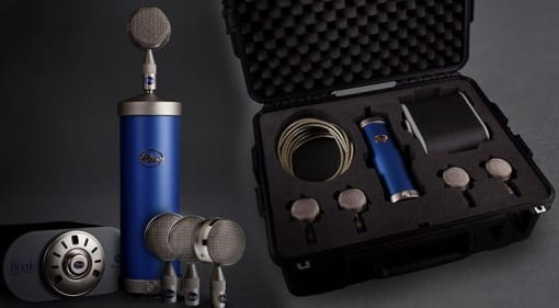 Blue Microphones Bottle Mic Locker