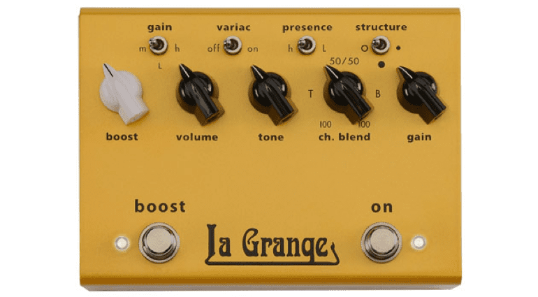 Bogner La Grange pedal FX pedal effects gold Vintage Marshall Plexi tones