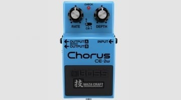 Boss Waza Craft CE-2W Chorus pedal CE-1 CE-2 BBD Bucket Brigade stereo analogue circuit Japan