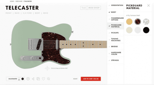 Fender Mod Shop