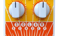 Magnetic Effects UK Solar Bender V2 classic Sola Sound Tone Bender MKII fuzz pedal