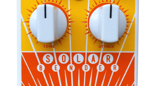 Magnetic Effects UK Solar Bender V2 classic Sola Sound Tone Bender MKII fuzz pedal