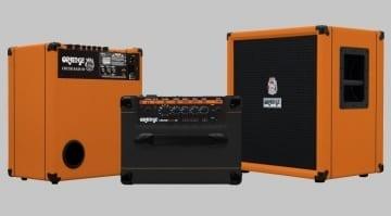 Orange Crush Bass Amp Range