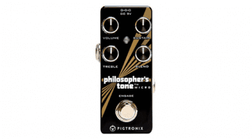 pedal FX compressor Pigtronix Philosopher's Tone Micro
