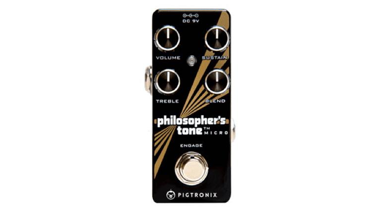pedal FX compressor Pigtronix Philosopher's Tone Micro